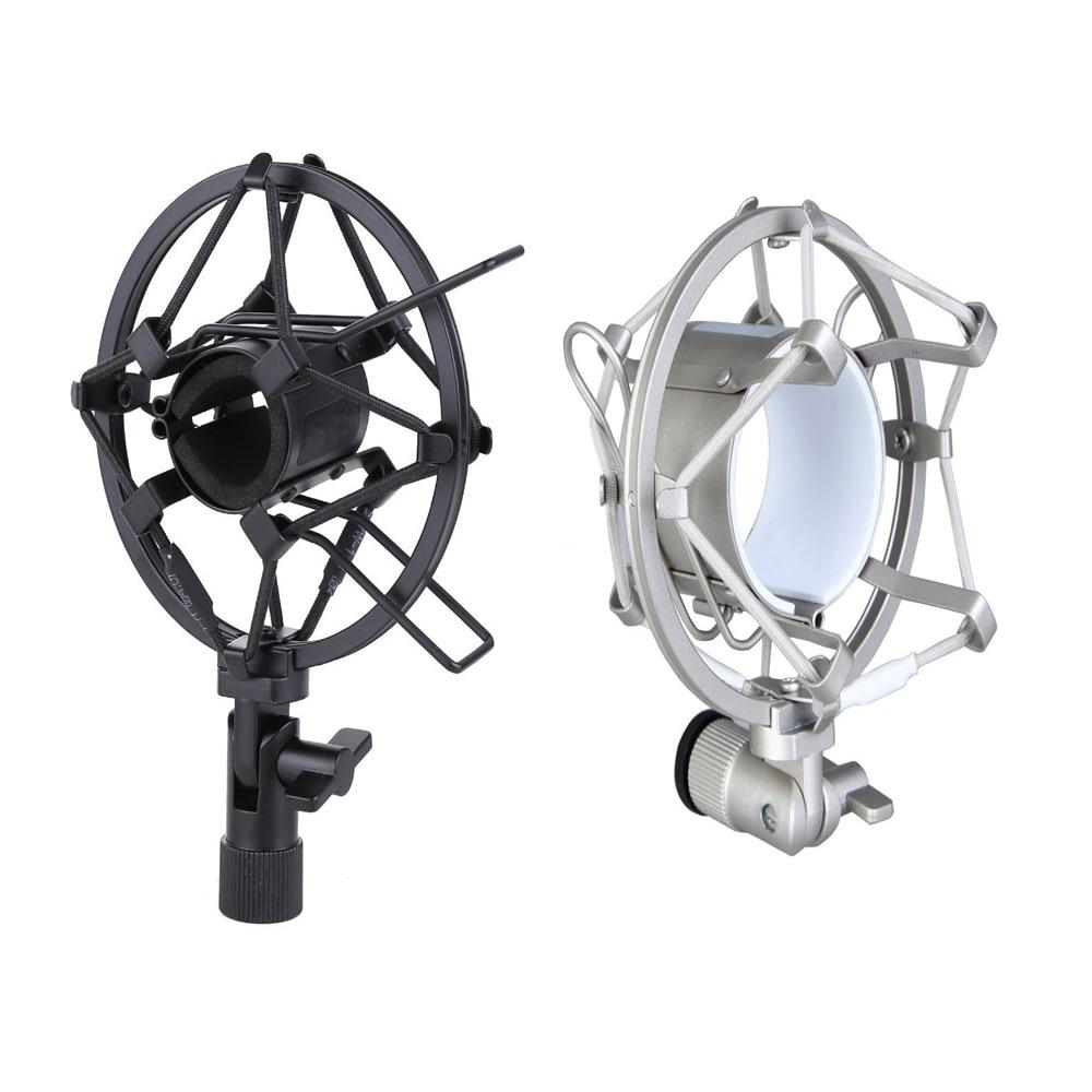 MAHA Microphone Shock Mount For Diameter Condenser Mic Black/Silver