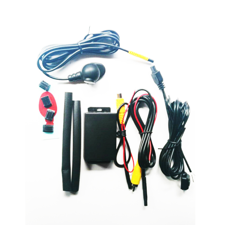Car Front Side View Blind Spot Backup Camera Parking System Automatic Switch Control Box Two Channel Controller