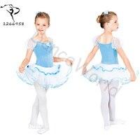 2017 Lovely Ballet Performance Clothing Stage Costumes Ballet Tutu Dress For Girl 90 100cm