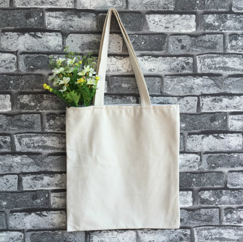 Women Tote Bag Canvas Reusable Tote DIY Personal Fashion  Environment-friendly Bag Casual Bag aosbos fashion portable insulated canvas lunch bag thermal food picnic lunch bags for women kids men cooler lunch box bag tote