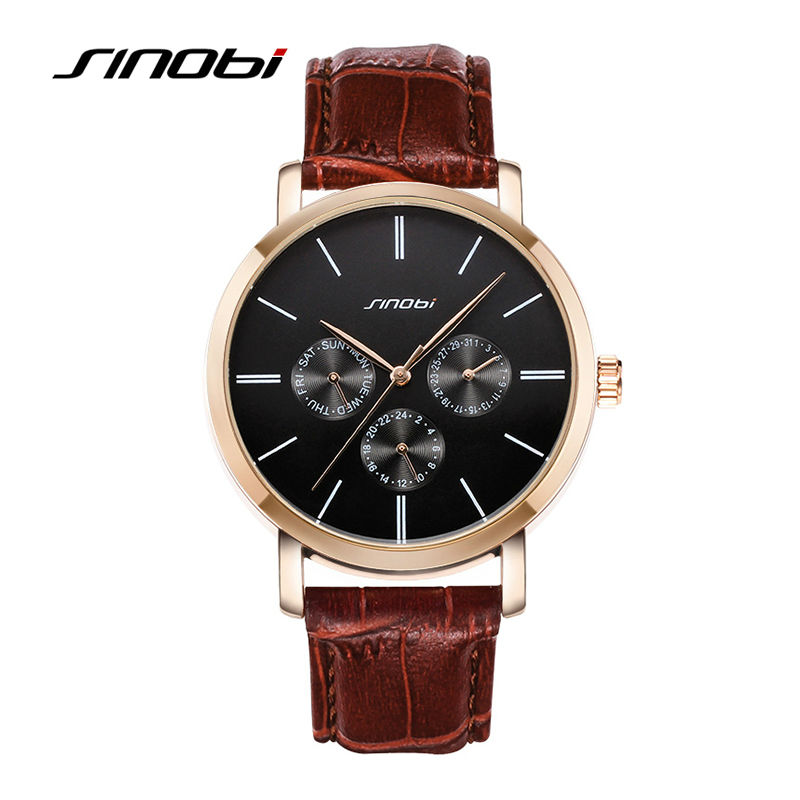 aliexpress buy sinobi casual wrist watches for mens