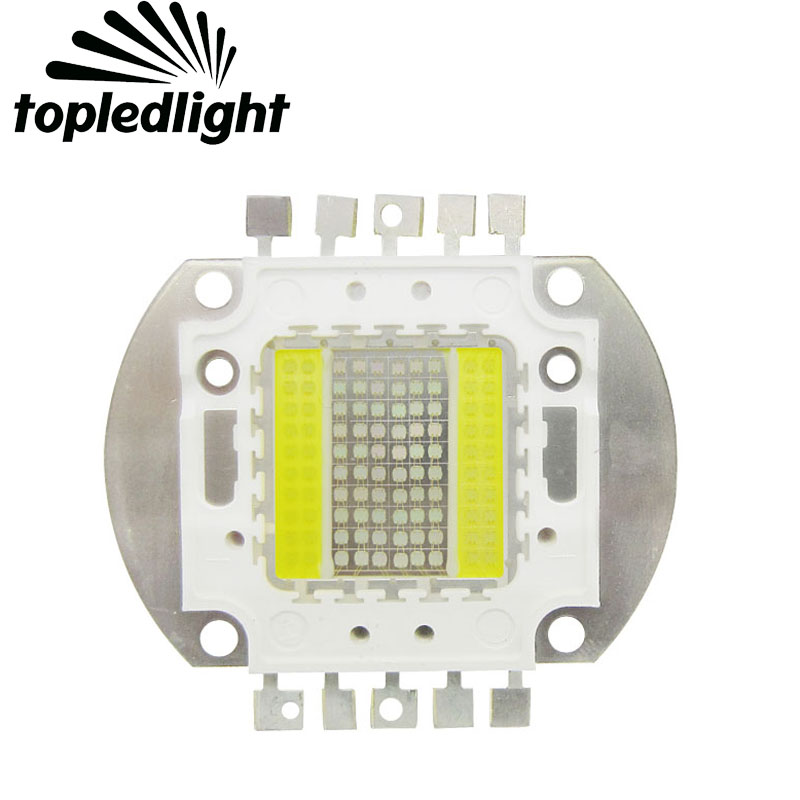 Topledlight Customize 100W Led Aquarium Light 5 Channel Full Spectrum Coral Light Epistar LED For DIY Sea Fish Tank Flood Light