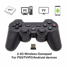 Lemonjoy Joystick 2.4G Wireless Gamepad USB Game pad Game Joypad Controller For Android Phone & TV & Windows Vista/7/8/10 & PS3