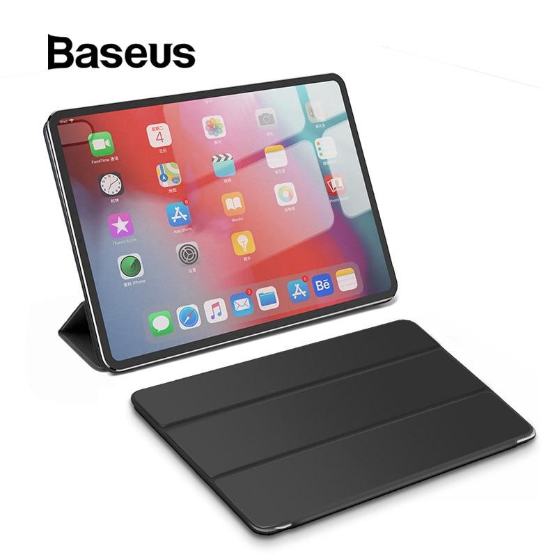 Étui folio élégant Baseus pour 12.9 étui iPad Pro 2018 étui de réveil automatique magnétique pour Apple iPad 2018 étui pour 11 iPad Pro