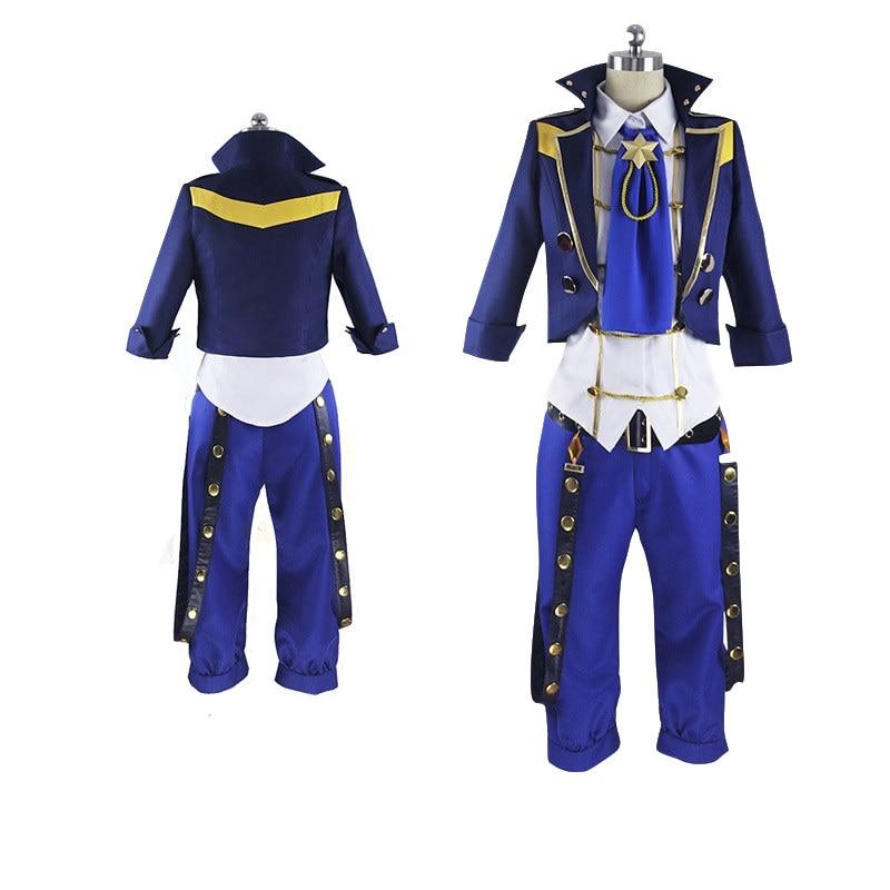 Tsukiuta The Animation Six Gravity GRAVITIC LOVE Kakeru Shiwasu Cosplay Costume Custom Any Size