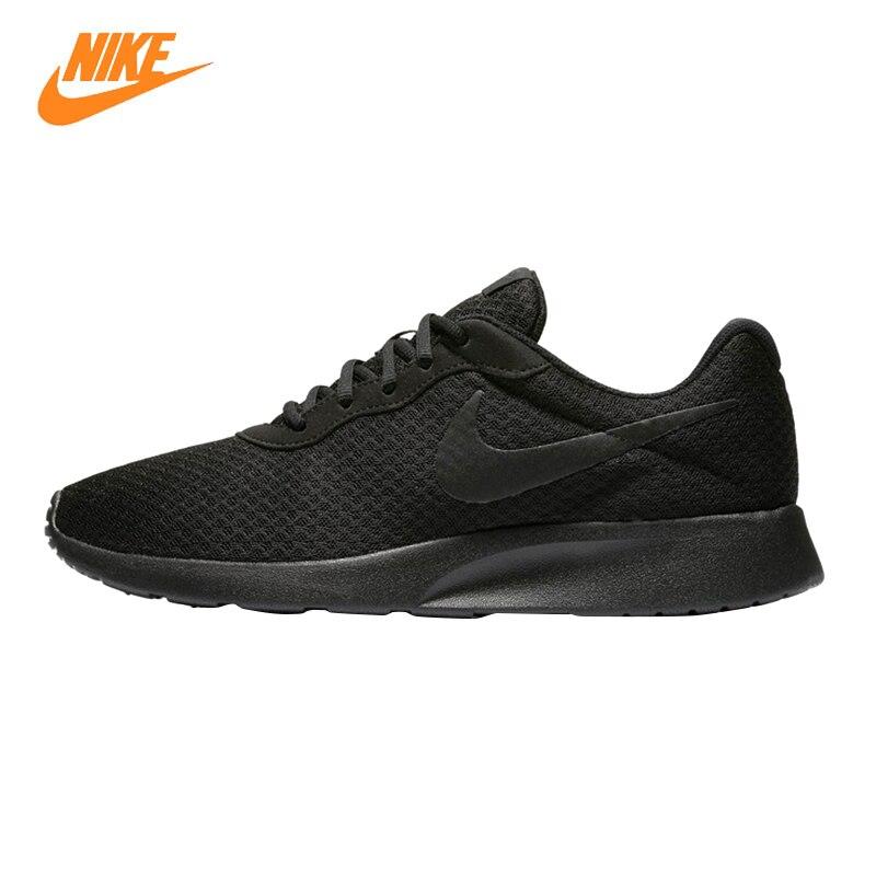 Nike Tanjun Kaishi Roshe Для женщин кроссовки, черный/розовый, увлажнения легкий дышащий материал 812654 001 812655 600
