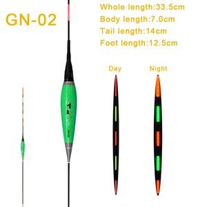 Image 4 - Flotadores de pesca de alto brillo, Nano flotadores luminosos, Bobbers eléctricos de luz nocturna, envío de 1 pieza, accesorios de batería CR425, regalos