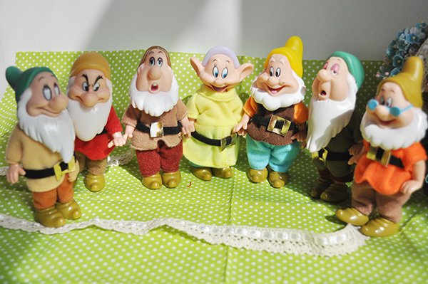 Figure Toy Birthday-Gift Seven Dwarfs Snow-White Doll Children And Five-Joints Cartoon