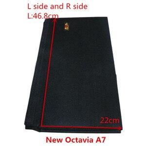 Image 5 - Для skoda Octavia II A5 A7, посылка для багажника, Специальная большая черная сумка для хранения, простая перегородка для хранения, 2 шт.
