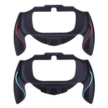 Anti skid Plastic Grip Handle Holder Case Bracket Protective Cover Game Accessories for Sony PSV PS Vita 1000 Controller