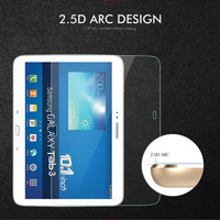 3 p5200 Tempered Glass For Samsung Galaxy Tab 3 10.1 Tab3 P5200 P5220 P5210 SM-P5200 GT-P5200 GT-P5220 Tablet Screen Protector Film (3)