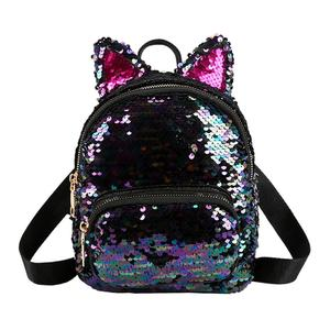 Glitter Women Sequins Backpack