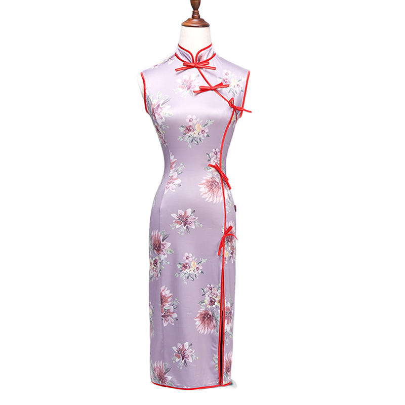 Latin Dance Dress New Costume Samba Latin Dance Cheongsam Dress Dance Performance Clothing Summer Practice Clothes DN1507