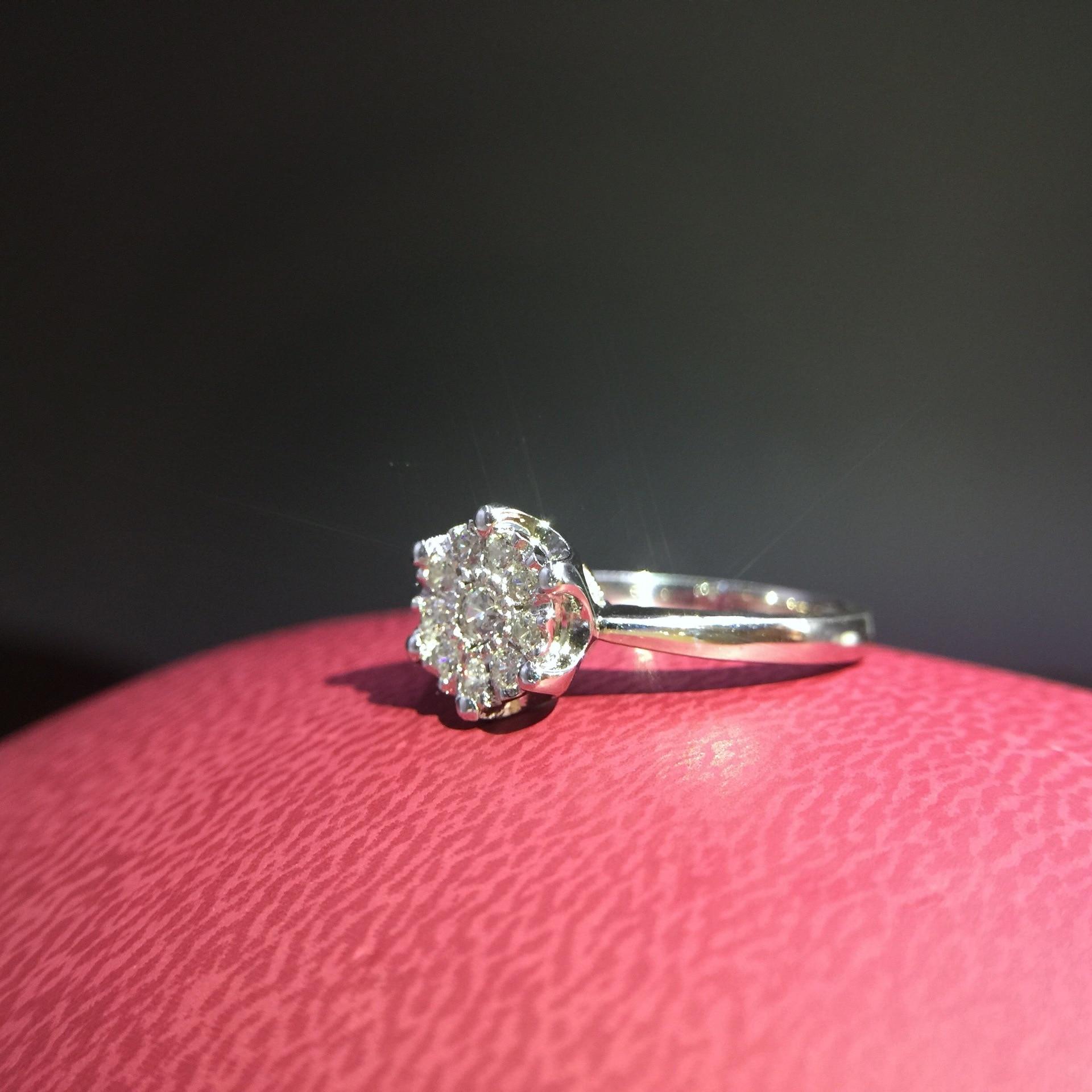 0.5 carat man made diamond jewelry silver lover wedding ring band ...
