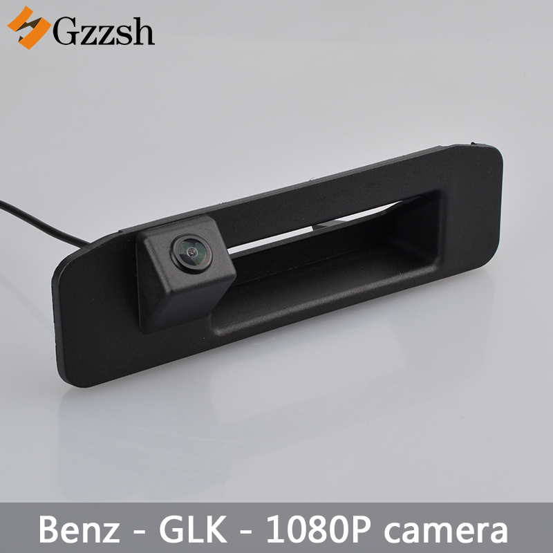 1080P Car HD Luggage Handle Camera For Mercedes Benz GLK 300 X204 Rear View Camera Auto Backup Reverse Parking Rearview Camera