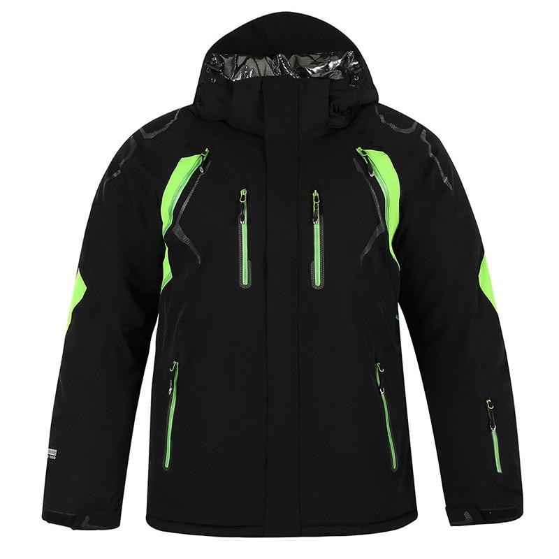 Hiver nouveau 2018 hommes et femmes simple et double planche ski costume coupe-vent imperméable manteau chaud extérieur alpinisme sportswear - 2