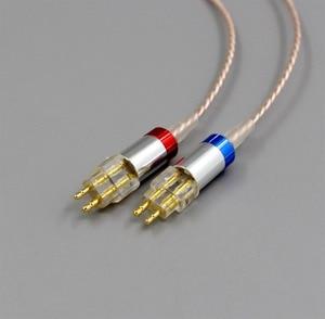 Image 4 - LN006375 היי Res כסף מצופה XLR 3.5mm 2.5mm 4.4mm אוזניות כבל עבור Sennheiser HD580 HD600 HD650 HDxxx HD660S HD58x HD6xx