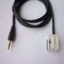New Car Accessory 3.5mm Audio AUX Cable Input For Peugeot 307 408 Sega Triumph
