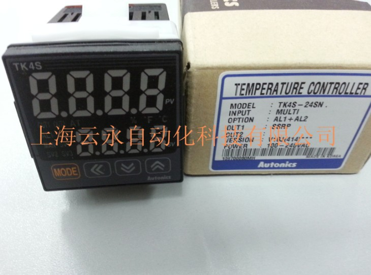 New original authentic TK4S-24SN Autonics thermostat temperature controller new japanese original authentic sy5420 5mz c6