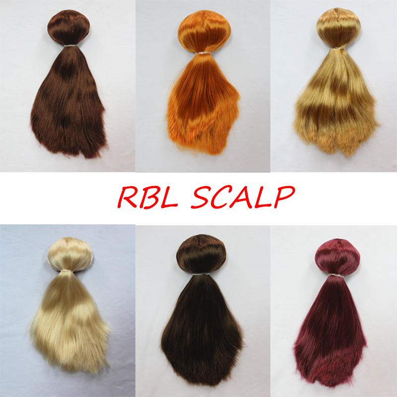 Rbl Blyth Doll Scalp Wig Including Inner Shell Straight Hair Series