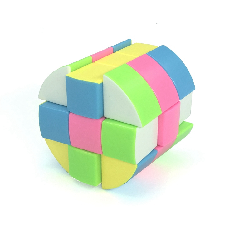 ZCUBE Cloud 3-layer Cylinder 3x3 Cubing Speed  Colorful Puzzle Magic Professional Twist Educational Kid Toys Drop Shipping 4