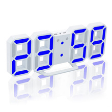 LED Digital Alarm Clock Upgrade Version 8888 Wall Can Adjust the Brightness Automatically in Night