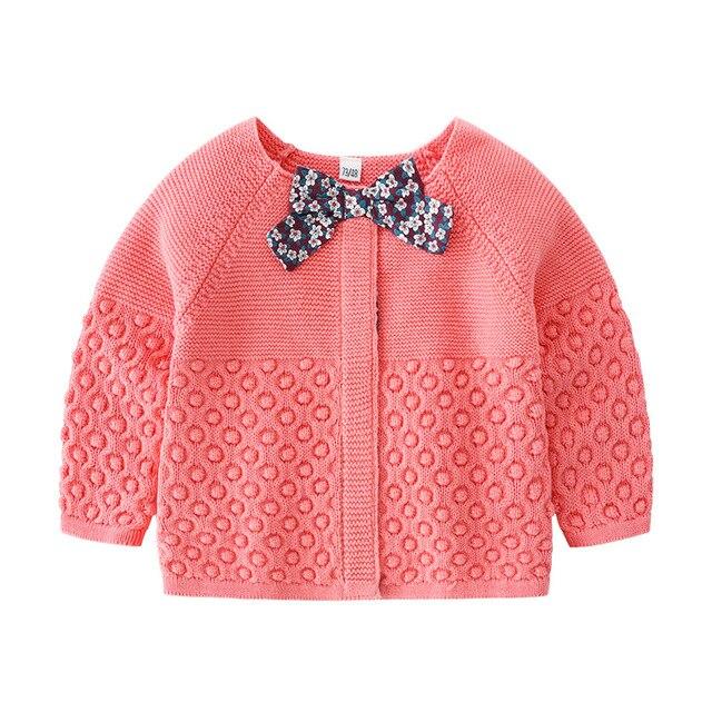 29f1b172c Toddler s Girls Sweater Casual Girls  Knit Cardigan Cute Baby Girls ...