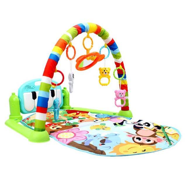 Multicolor Baby play gym 5c64ae491ab49
