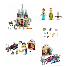 2019 new hot JG303 castle princess compatible with Legoings bricks SY371 spell inserted educational childrens toys gifts