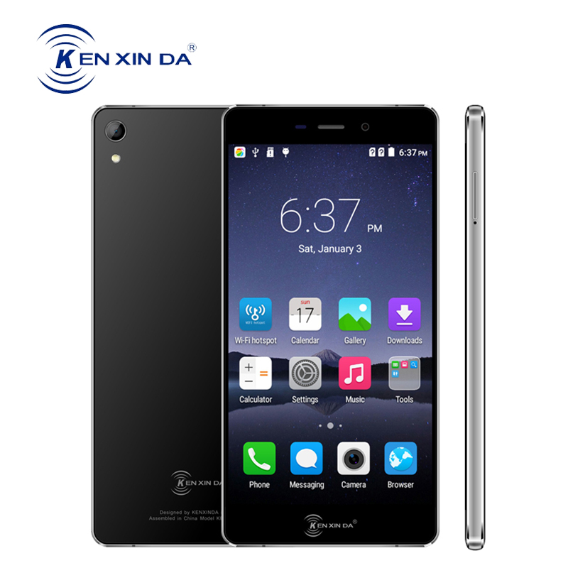 Kenxinda R6 4G Smartphone Android 6.0 5.2 Inch MTK6753 Octa Core 2GB 16GB 5MP+8MP 1920x1080 IPS Dual SIM Ultra Slim Mobile Phone