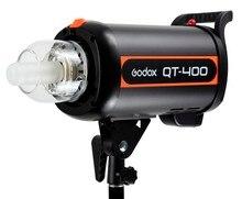 купить Godox QT-400 400W Fast Duration Flash Lighting Lamp Studio Strobe Head 1/5000s AC200-240V/50HZ LED Light недорого