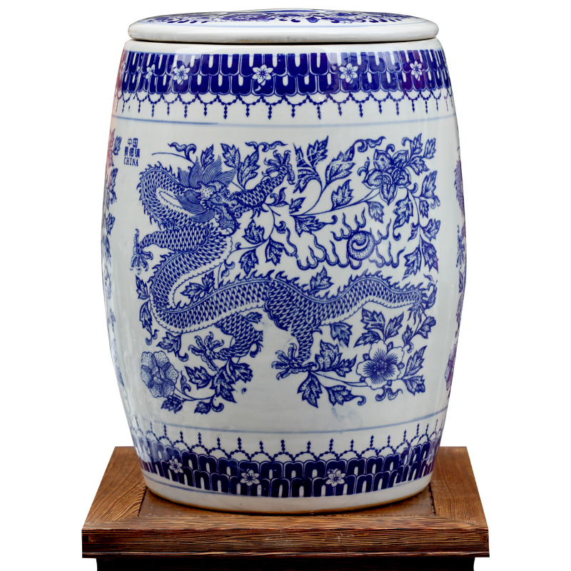 Novel Chinese Blue and White Ceramic Porcelain Garden Stool With Storage Jar Function  sc 1 st  AliExpress.com & Online Get Cheap Blue White Ceramic Stool -Aliexpress.com ... islam-shia.org