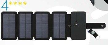 Ηλιακός Φορτιστής USB Έξοδος Γρήγορη Φόρτιση SunPower 20W Πτυσσόμενα Ηλιακά Πάνελ Power Banks Gadgets MSOW