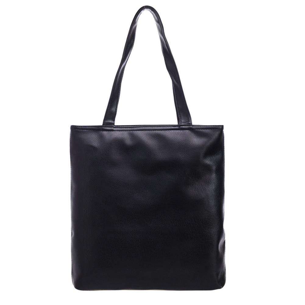 2017 New Simple Fashion Famous Designers Brand Handbags Large Women Bags SolidPU LEATHER BAGS/Shoulder Tote Bags <font><b>Big</b></font>
