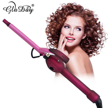 13mm Deep Curly Hair Styler Curls Ceramic Curling Iron Fashion Wand Curler Pear Hair Curlers Rollers High Quaity Curling Wand pritech brand multi function hair curler magic hair rollers straightener curling wand for family free shipping