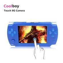 Coolboy Touch Jeu Console 8 gb 4.3 pouce MP4 Lecteur Vidéo Caméra de Jeu Portable De Poche Consoles Jeux Avec 28 Langues