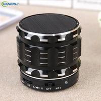 HANGRUI S28 Bluetooth Speaker Mental Wireless Loudspeaker Stereo Speaker Support TF Card Super Bass Portable Speaker