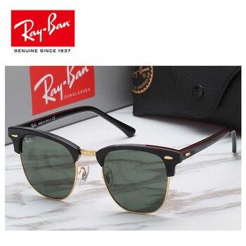 52cb2d28ba 2019 RayBan polarizadas Gafas de sol hombres de aviación de conducción  tonos hombre Gafas de sol para hombres Retro de las mujeres Gafas RayBan  RB3016 ...