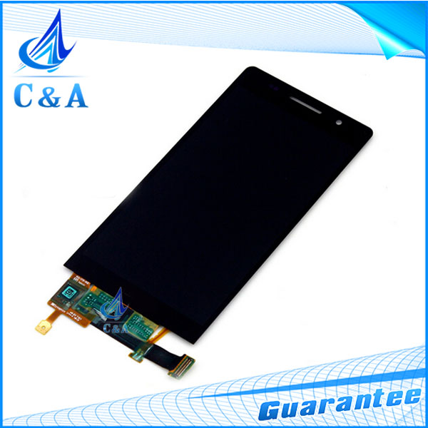 1 piece tested free shipping replacement repair part 4.7 inch screen for Huawei Ascend P6 lcd display with touch digitizer