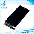 1 unidades el envío libre probado reparación de parte de reemplazo de 4.7 pulgadas pantalla lcd con el digitizador de la pantalla para huawei ascend p6