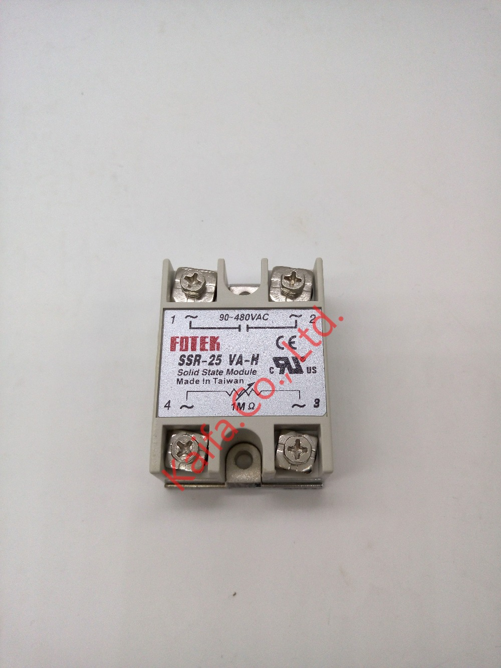 solid state relay SSR-25VA-H 25A actually 500K ohm 4w TO 90-480V AC SSR 25VA H Resistance type voltage regulator solid state 25a ac 380v solid state relay voltage resistance regulator w aluminum heat sink