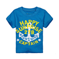 T-shirt de Manga curta Para 1-6 Anos Meninos de Verão Camisetas Crianças Menino Camisa Do Bebê T-shirt Das Crianças Roupas de Verão Dos Meninos terno Traje