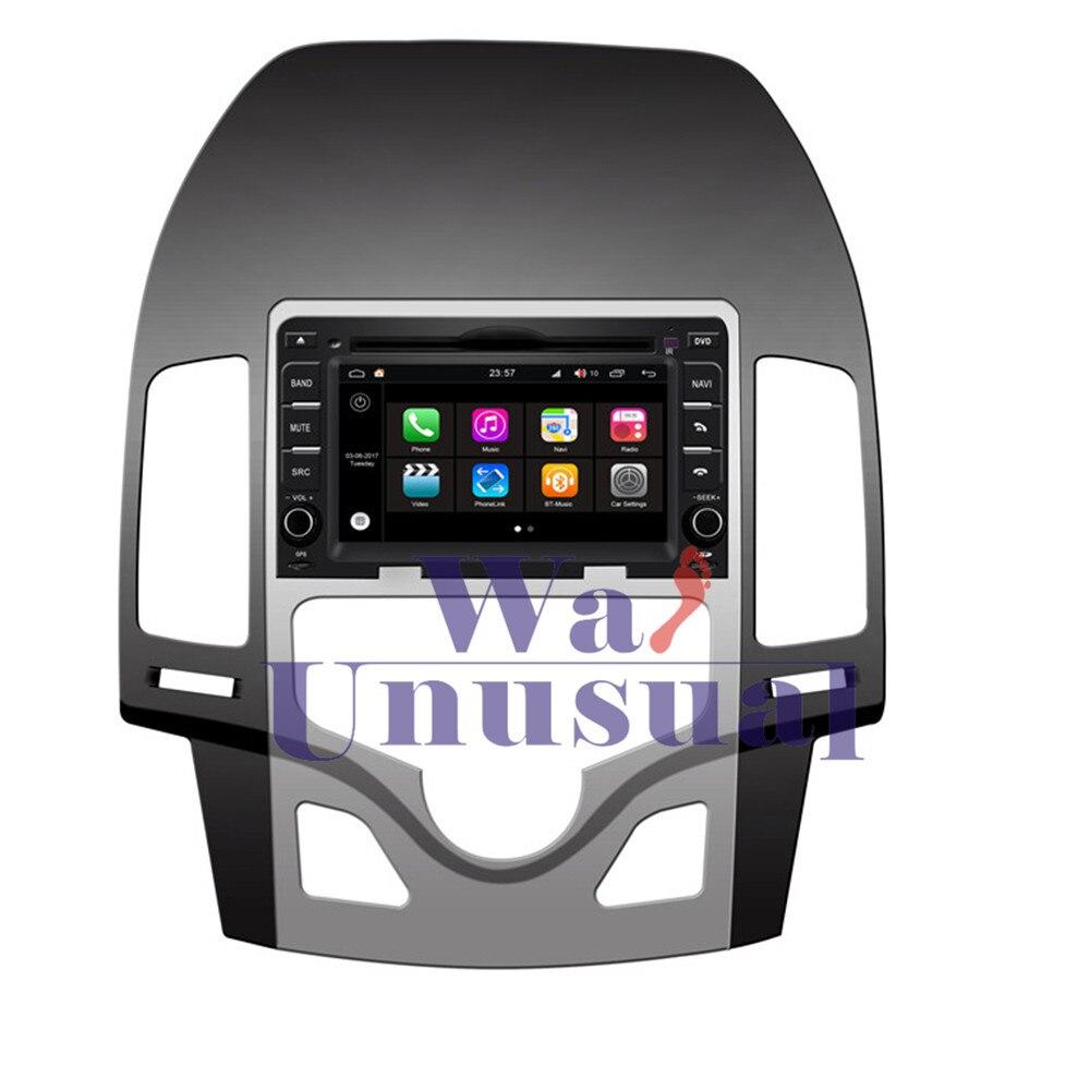 WANUSUAL 6.2 Pouce WINCA S190 Android 7.1 Quad Core 2G + 16G De Voiture Lecteur multimédia pour Hyundai I30 Auto AC 2007 2008 2009 2010 2011