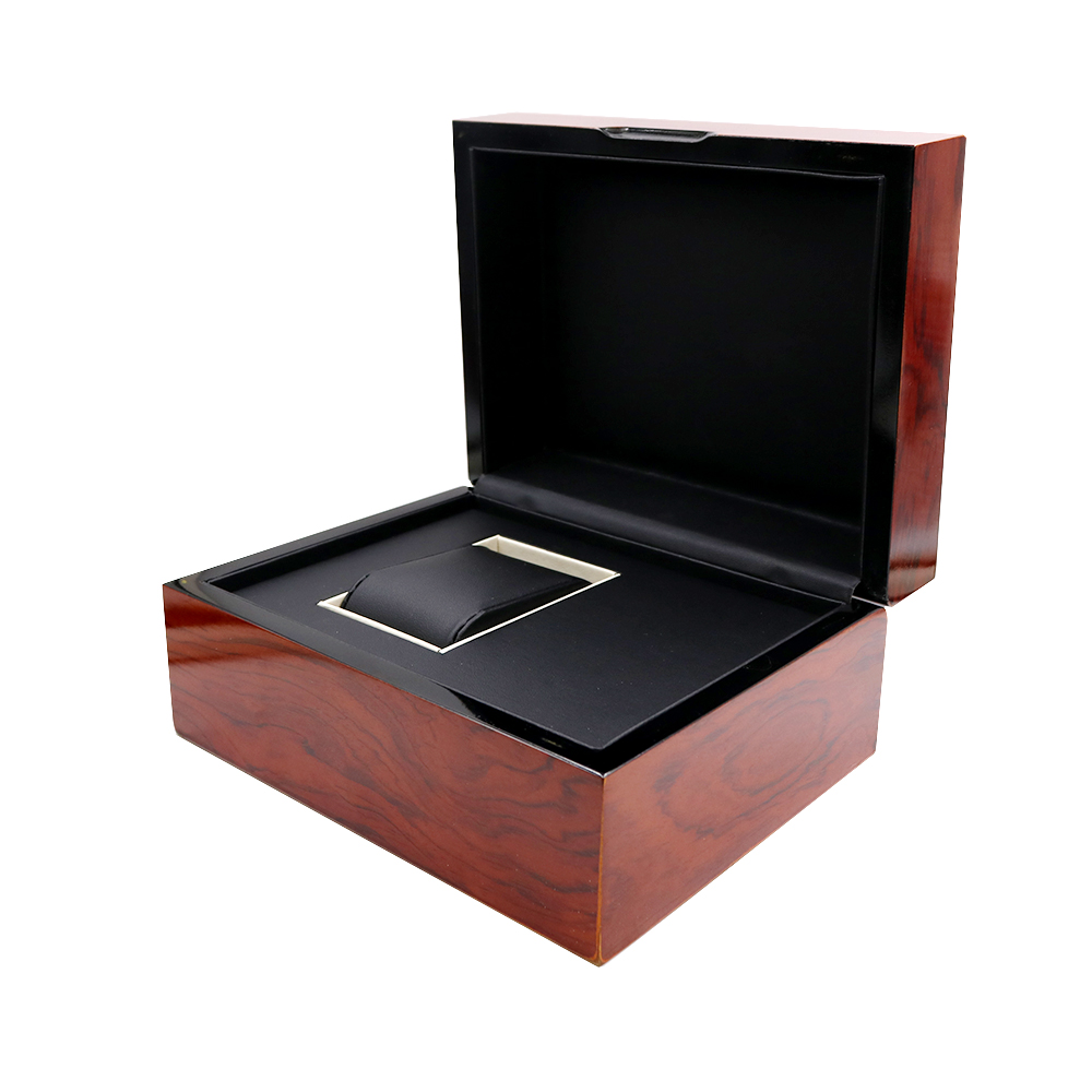 CARLYWET High Quality Fashion Luxury Mixed Material Watch Box Jewelry Storage Case Gift With Pillow For Rolex IWC Omega Seiko in Watch Boxes from Watches