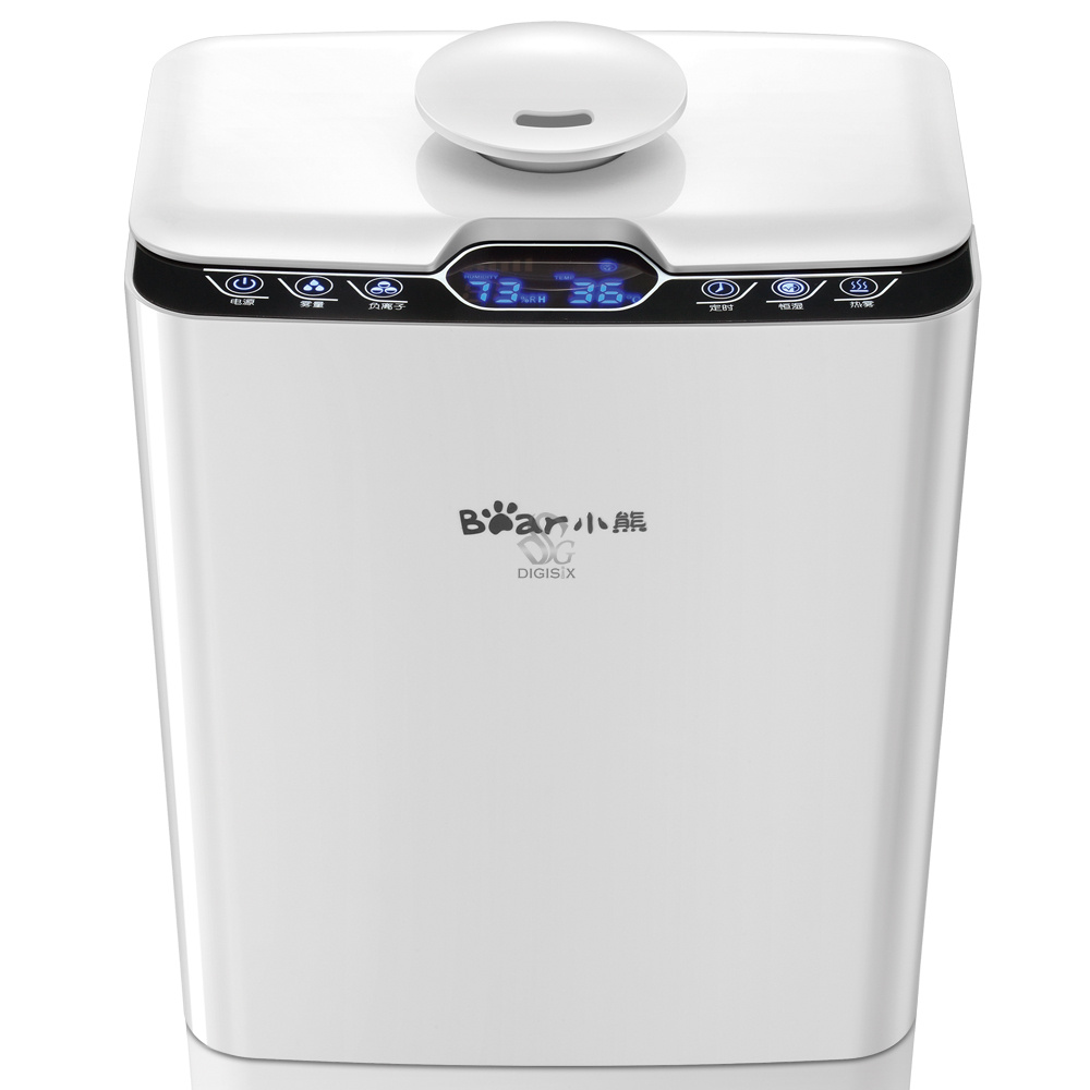 ФОТО JSQ-140WA large capacity intelligent humidifier anion activated carbon air purifier