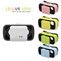 НОВЫЙ VR BOX III LEJI VR Мини Google Картон VR КОРОБКА 3.0 Мини Виртуальная Реальность 3D Очки для 4.5-5.5 дюймов смартфон