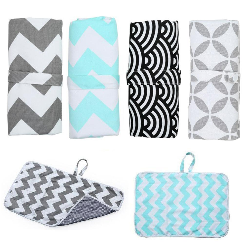 New 3 In 1 Waterproof Changing Pad Diaper Travel Portable Outdoor Diapers Multifunctional Baby Infant Toddler Nappy Foldable Mat