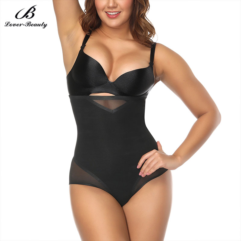 Lover Beauty Women Sexy Body Shapers Slimming Figure Panties Close Fitted Nude High Rise Butt Lift Panties Seamless Leg Cut A