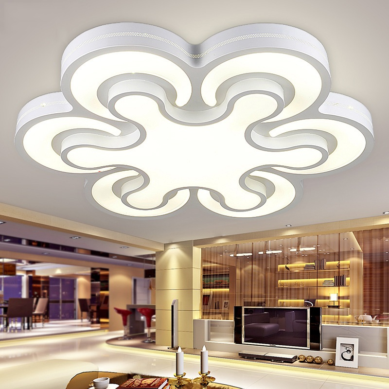 Creative spaceship shaped LED ceiling lamp living room bedroom study office lighting commercial lighting Ceiling lights 90-240V