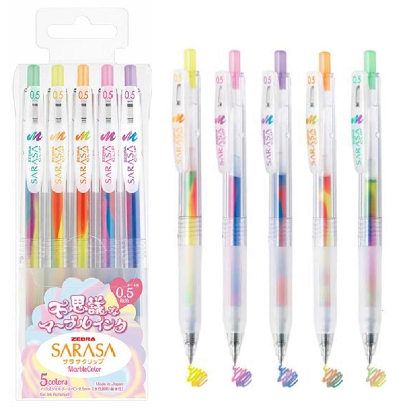 Giapponese Zebra incredibile penna gel JJ75 disegno a penna di colore 5 pz/lottoGiapponese Zebra incredibile penna gel JJ75 disegno a penna di colore 5 pz/lotto